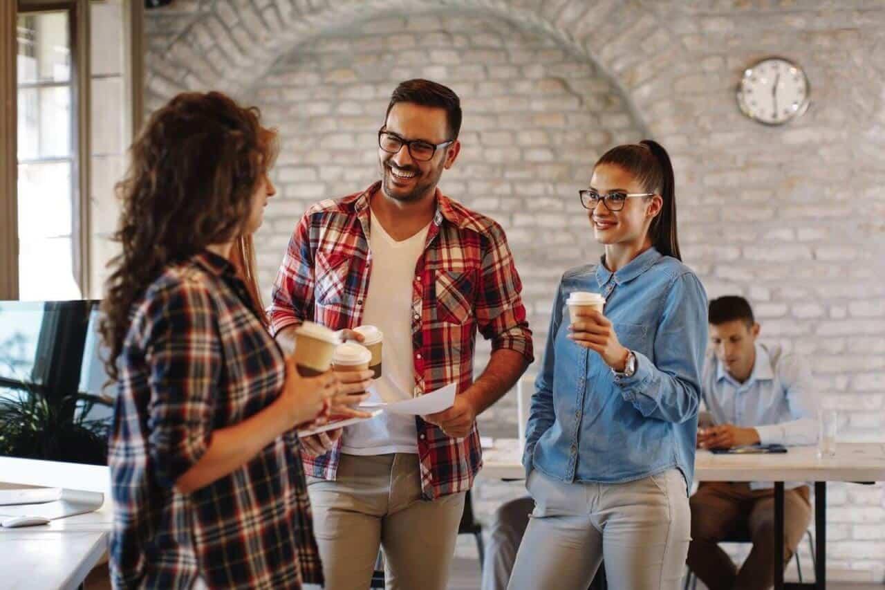 90% des salariés estiment qu'un café de qualité témoigne de l'attention que l'entreprise porte à leur bien être.
